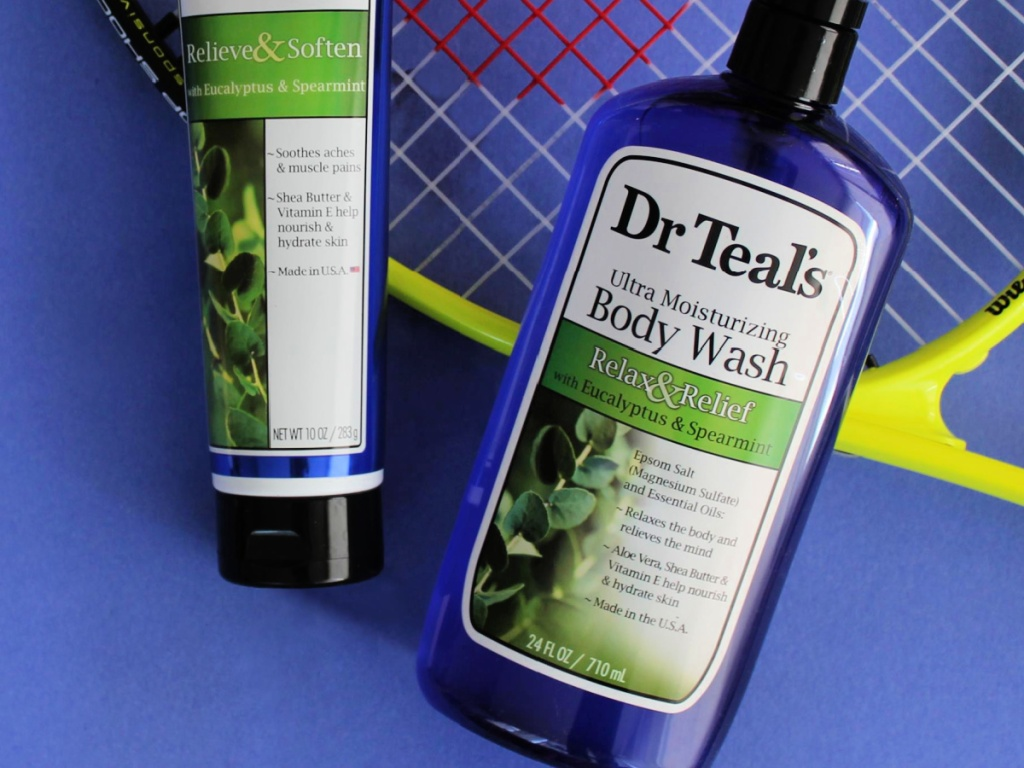 Dr Teal's Ultra Moisturizing Body Wash Relax and Relief with Eucalyptus Spearmint 24-Ounce Bottle