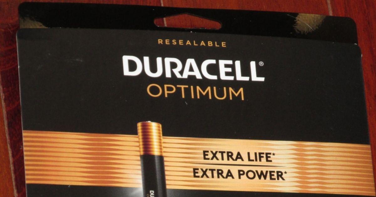 Free Duracell Optimum Batteries After Office Depot Rewards