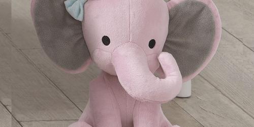 Twinkle Toes Pink Elephant Plush Just $4 on Amazon (Regularly $13)