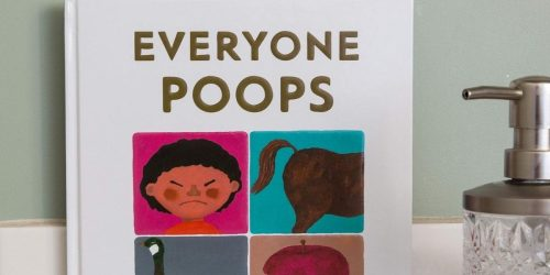 Everyone Poops Hardcover Book Only $6.94 on Amazon or Walmart.com (Regularly $17)