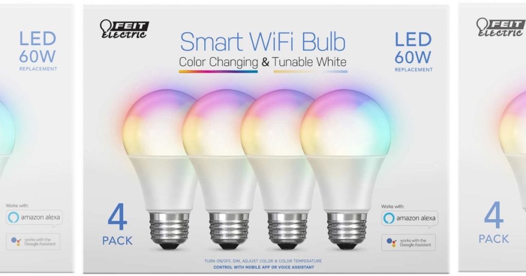 Feit LED Light Bulbs 4-Pack