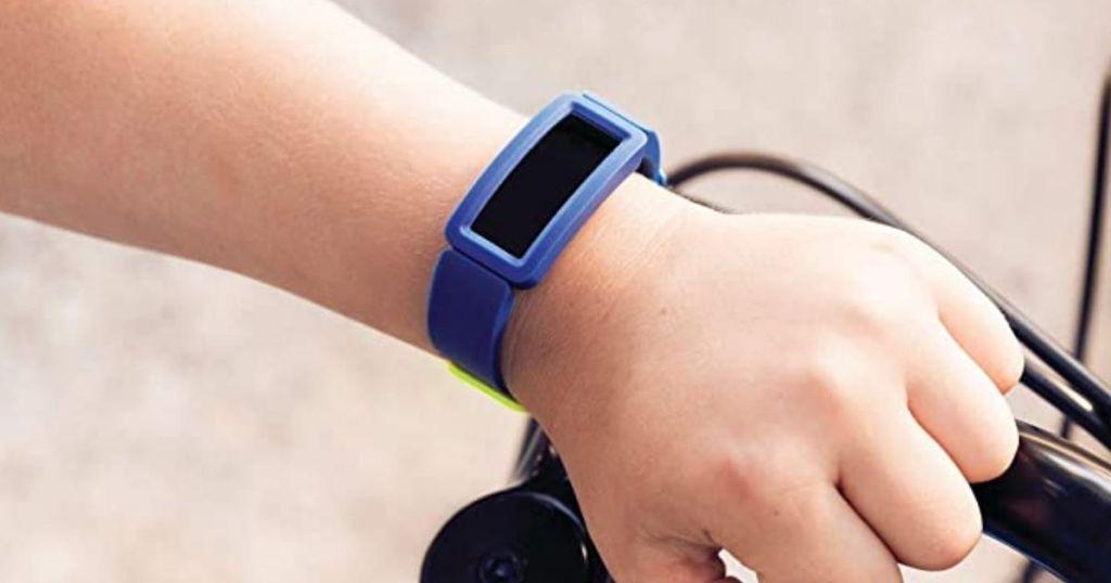 blue Fitbit Ace 2 Kids Fitness Tracker