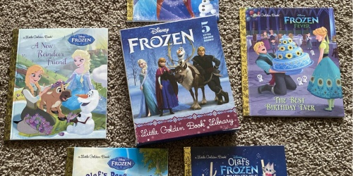 Little Golden Book Disney Frozen 5-Book Set Only $14.52 on Amazon (Regularly $25)