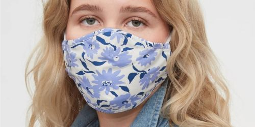 GO! GAP Factory Reusable Face Mask 3-Packs ONLY $1.78 (Just 59¢ Per Mask!)