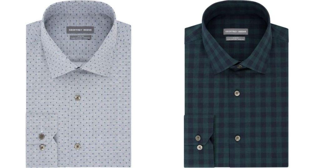 two dress shirts