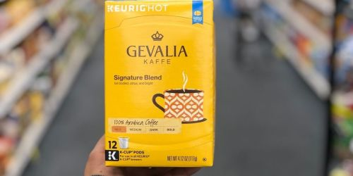 Gevalia Coffee Pods 12-Pack Only $2.99 After Cash Back at CVS