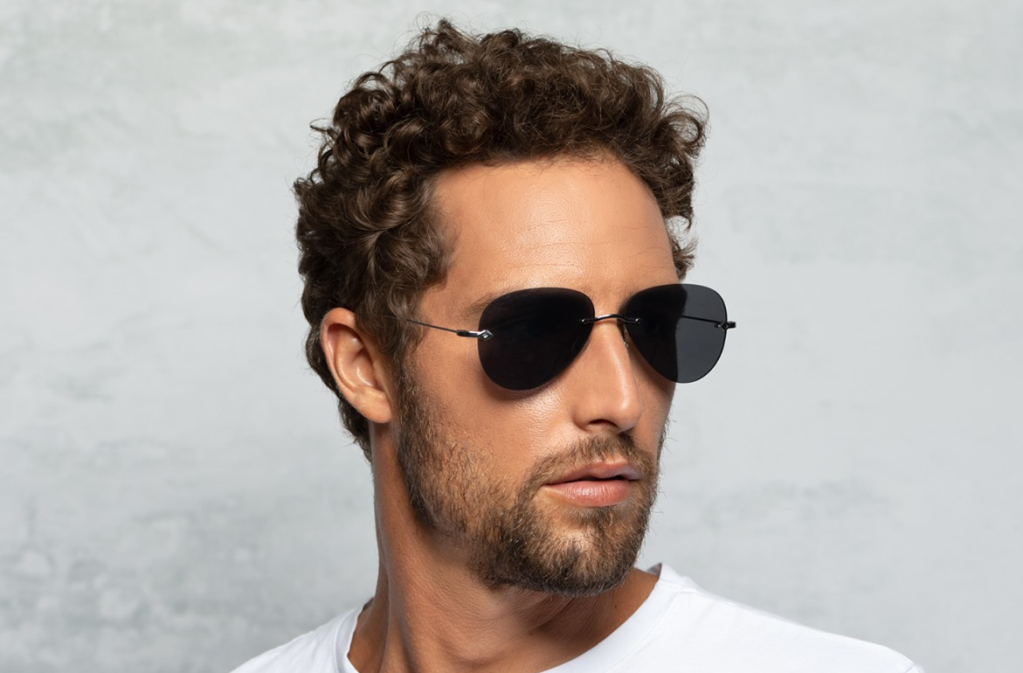 man wearing a pair of sunglasses