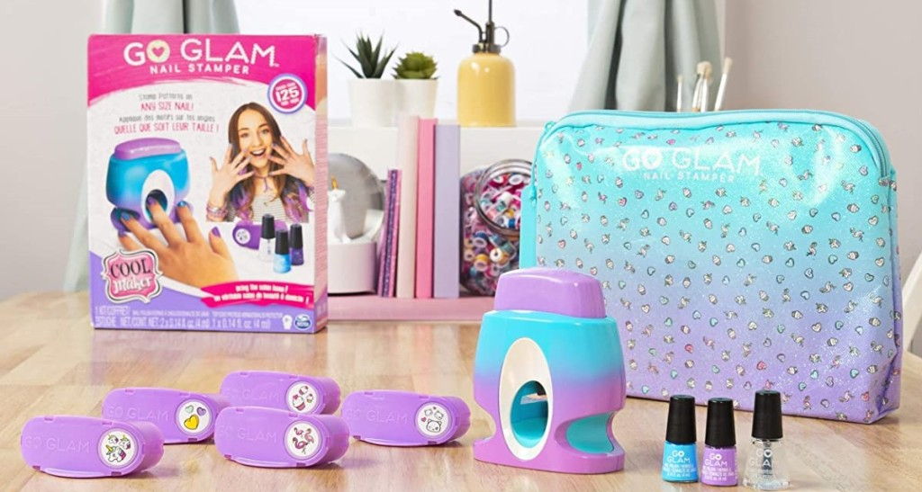 Go Glam Nail Stamper set and accessories