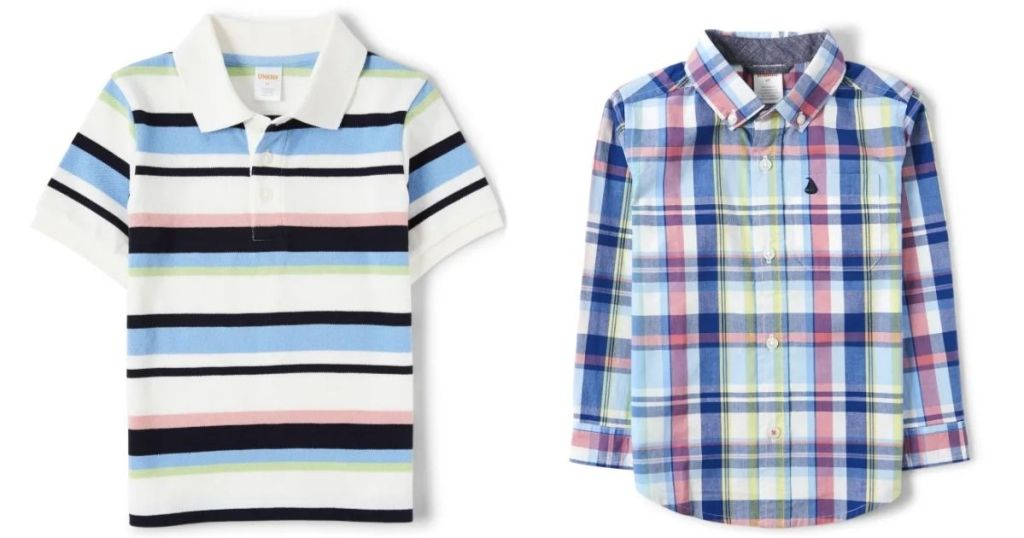 2 Gymboree Boys Shirts