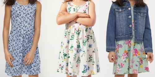 H&M Girls Summer Dresses Only $4.49
