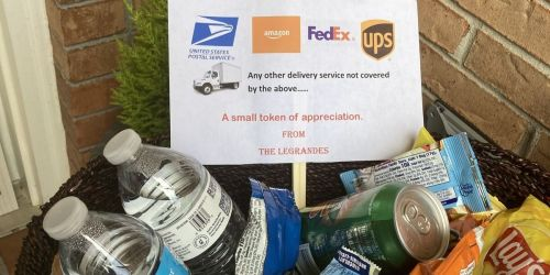 Use This Readers Suggestion to Thank Your Delivery Drivers All Year Long