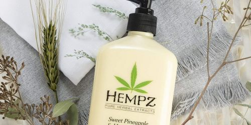 Hempz Herbal Body Lotion 17oz Bottles Only $9.99 on Kohl's.com (Regularly $20)