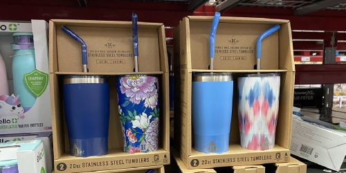 Stainless Steel Tumbler Multipacks from $14.98 at Sam's Club