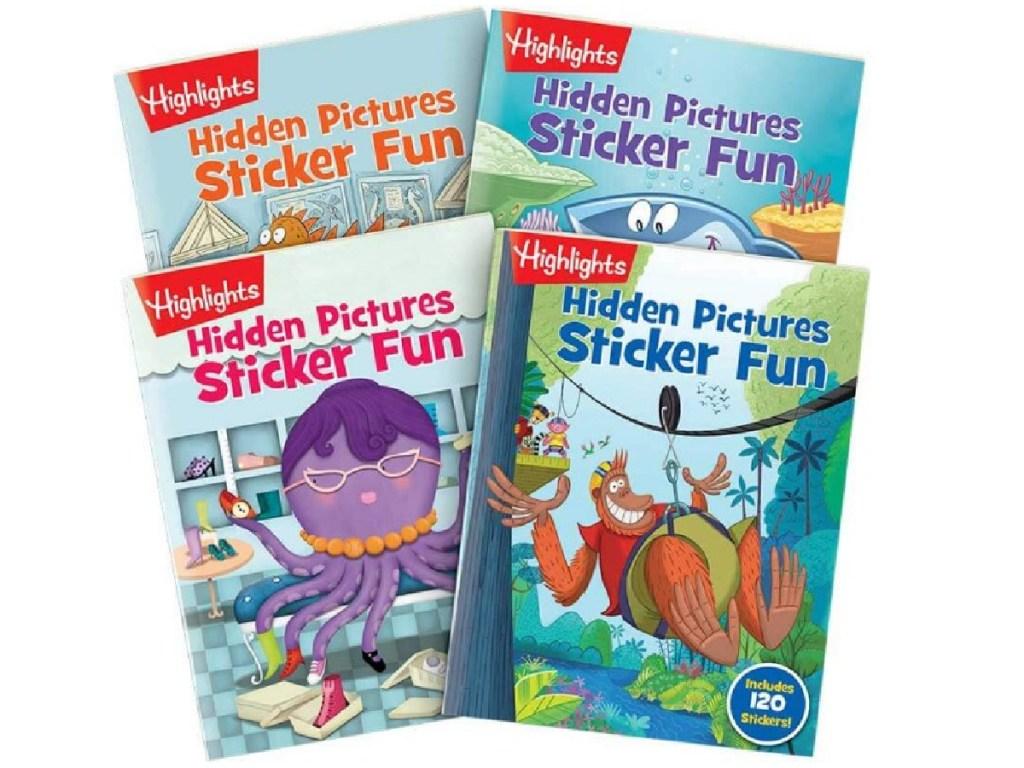 4 highlights hidden picture books