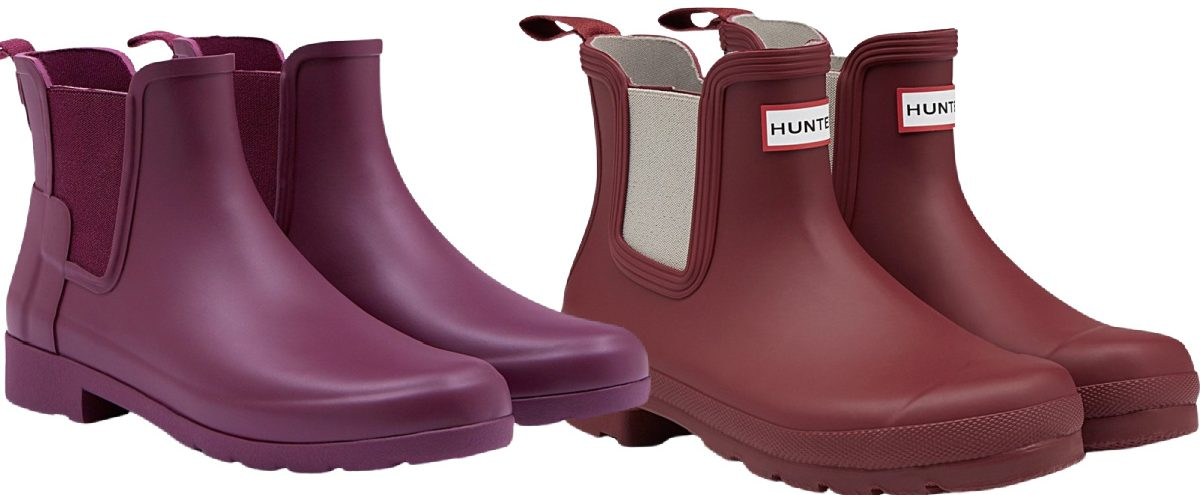 stock images of purple and maroon womens hunter boots