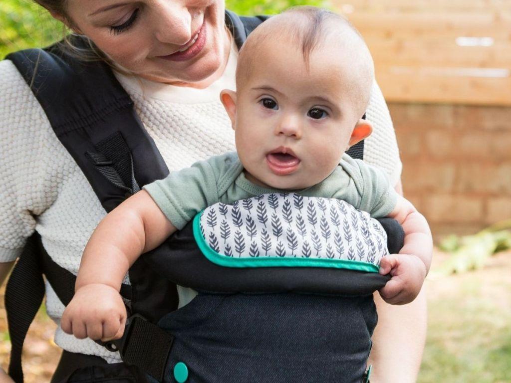 Baby in Infantino Flip Carrier