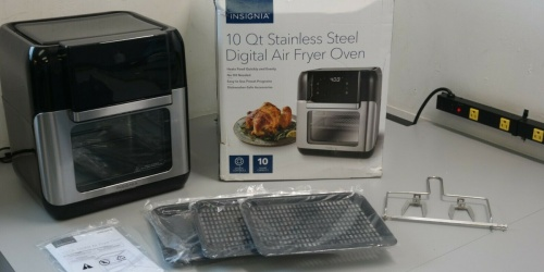 Digital Air Fryer & Rotisserie Just $59.99 Shipped on BestBuy.com (Regularly $150)