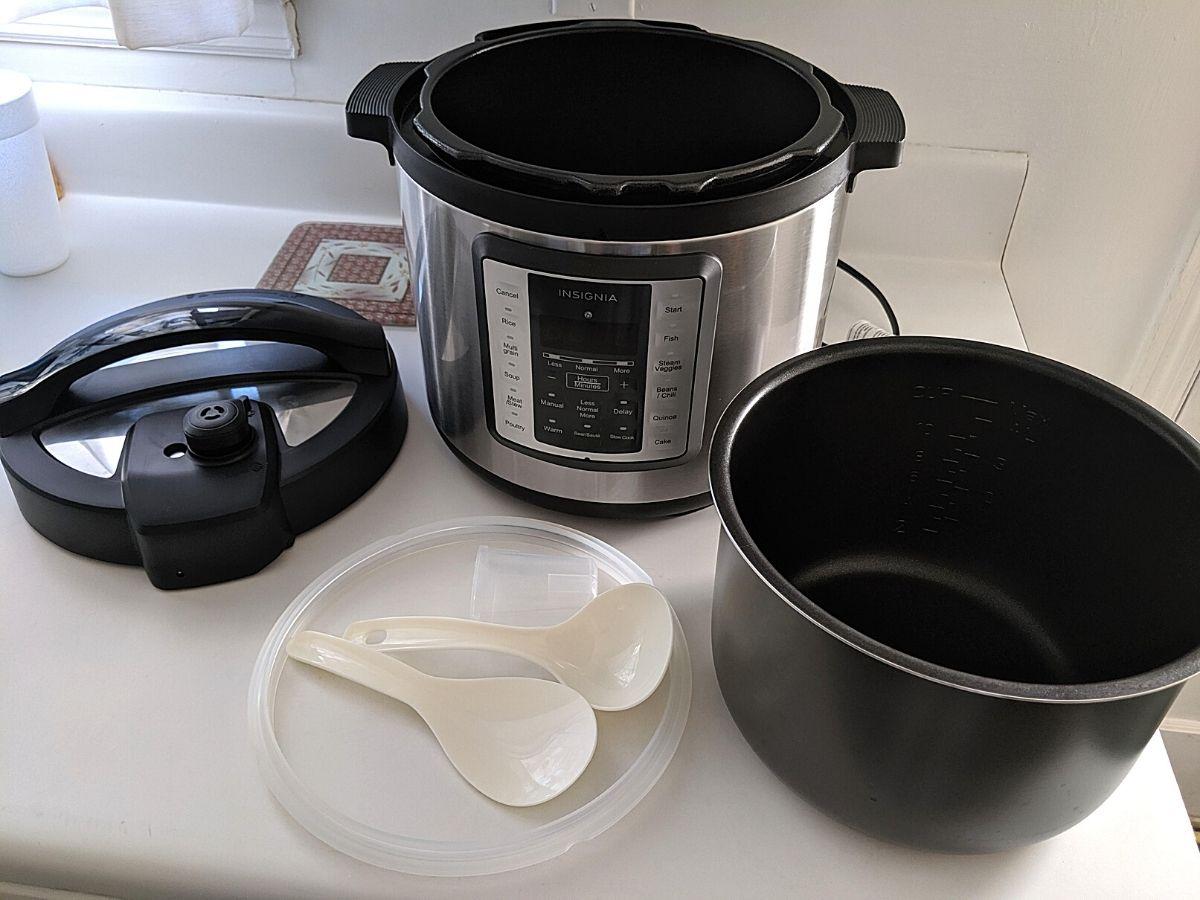 insignia 6 qt multi function pressure cooker