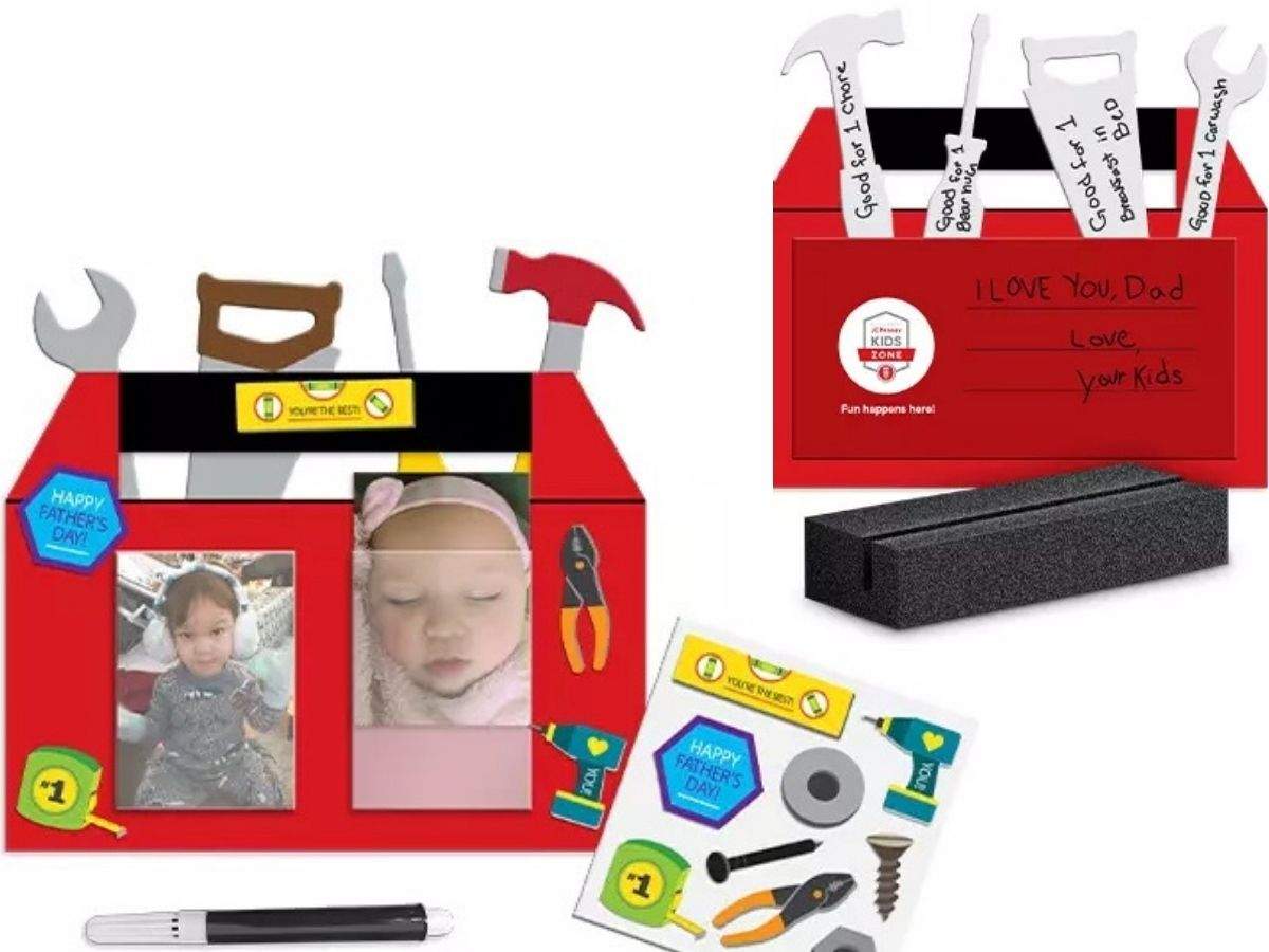 JCPenney Father's Day Gift Craft Kit