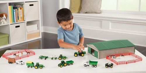 John Deere Die-Cast Farm 70-Piece Playset Only $24 Shipped on Amazon (Regularly $40)