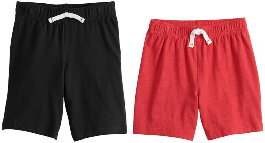 2 pair of boys jumping beans shorts