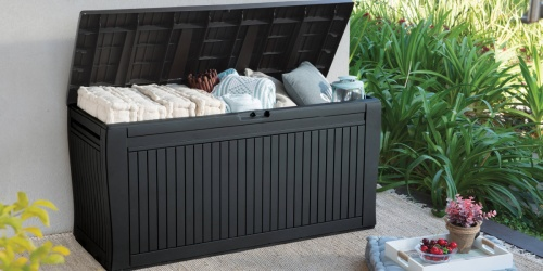 Keter 71-Gallon Outdoor Deck Box Just $49 Shipped on Walmart.com (Regularly $90)