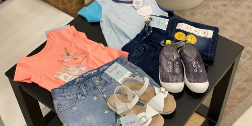 Cat & Jack Kids Shoes & Separates from $3 at Target | In Store & Online