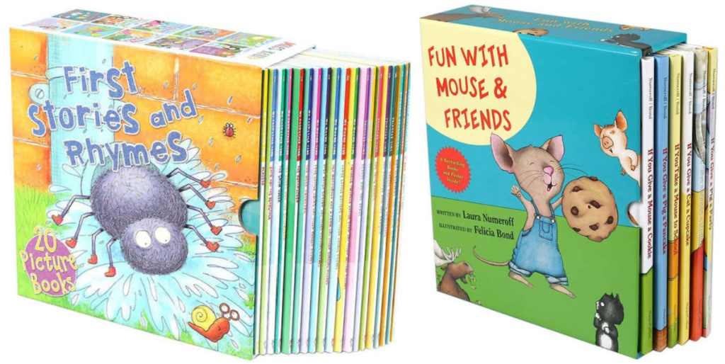 kids book boxed sets