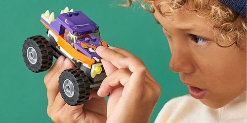 LEGO City Monster Truck Building Set Only $7 on Amazon