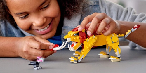 LEGO Creator Wild Animals 3-in-1 Set Only $11.99 on Amazon