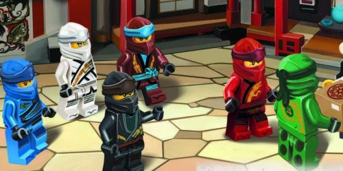 LEGO Ninjago 2-Book Sets w/ Minifigures from $10.80 on Amazon