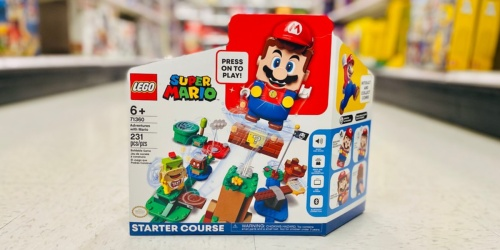 LEGO Super Mario Starter Set + Character Pack Only $42.98 Shipped After Target Gift Card (Regularly $65)