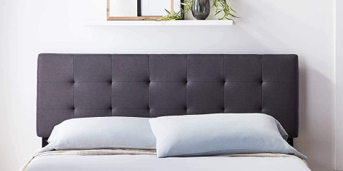 Tufted Adjustable Headboards from $44.83 Shipped on Amazon (Regularly $100+)
