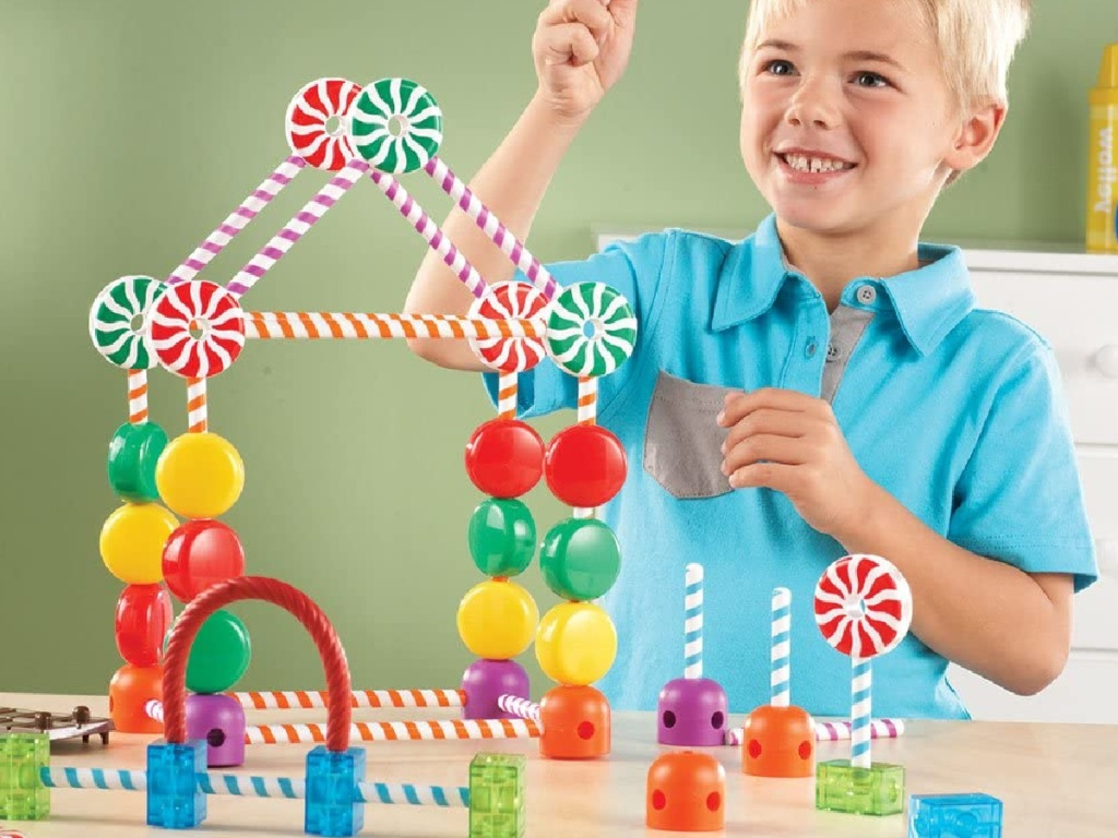 Learning Resources Educational Toys candy construction