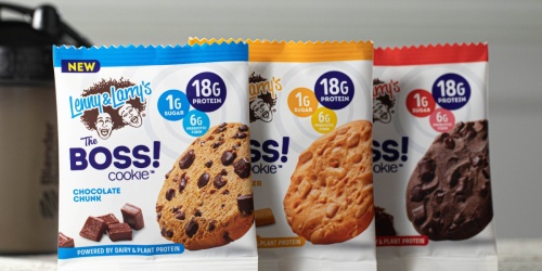 FREE Lenny & Larry's The Boss Cookie After Cash Back at Kroger