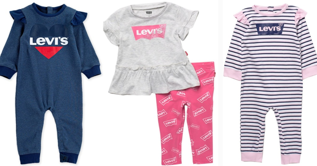 levi's baby girl outfits