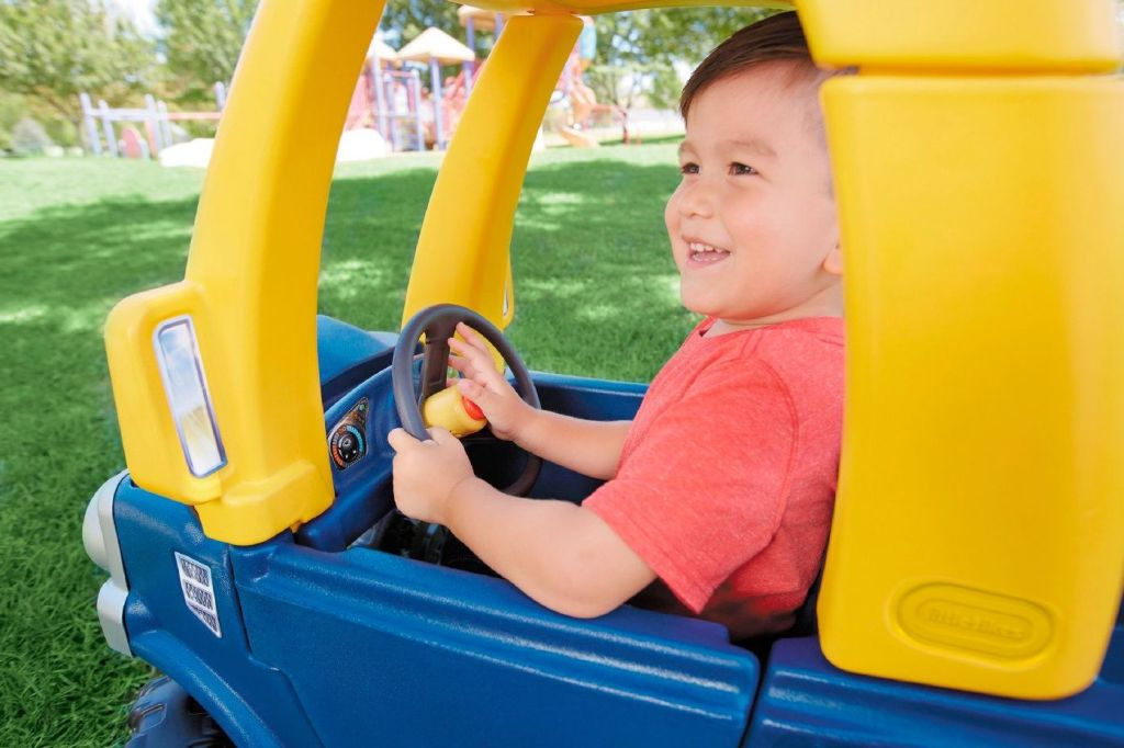 Little Tikes Blue Cozy Truck