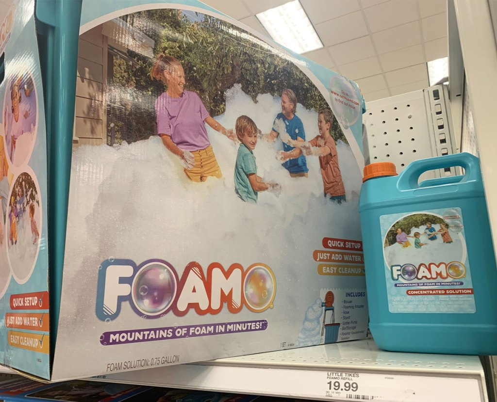 little tikes foamo foam machine and solution bottle at target