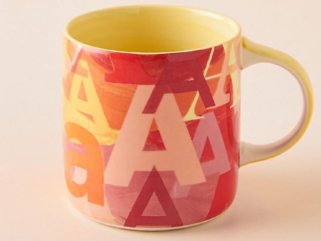Lottie Monogram Mug