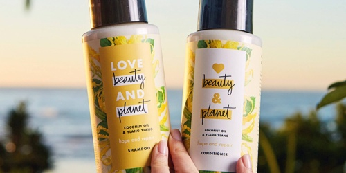 Love Beauty and Planet Shampoo 32oz Bottles Only $8.49 Each on Amazon