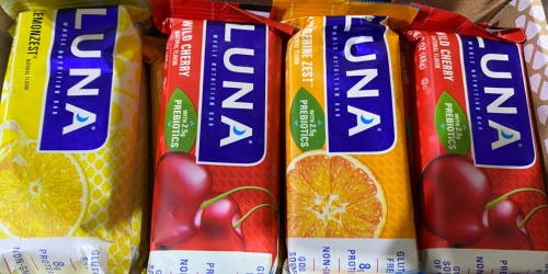 Luna Bar Variety Pack 12-Count Just $10 Shipped on Amazon