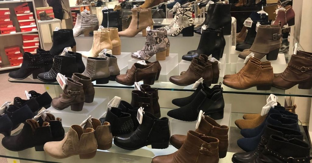 Macy's Boots in store