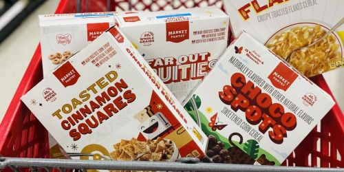 20% Off ALL Cereals at Target (Stack w/ Coupons & Cash Back Offers to Save BIG!)