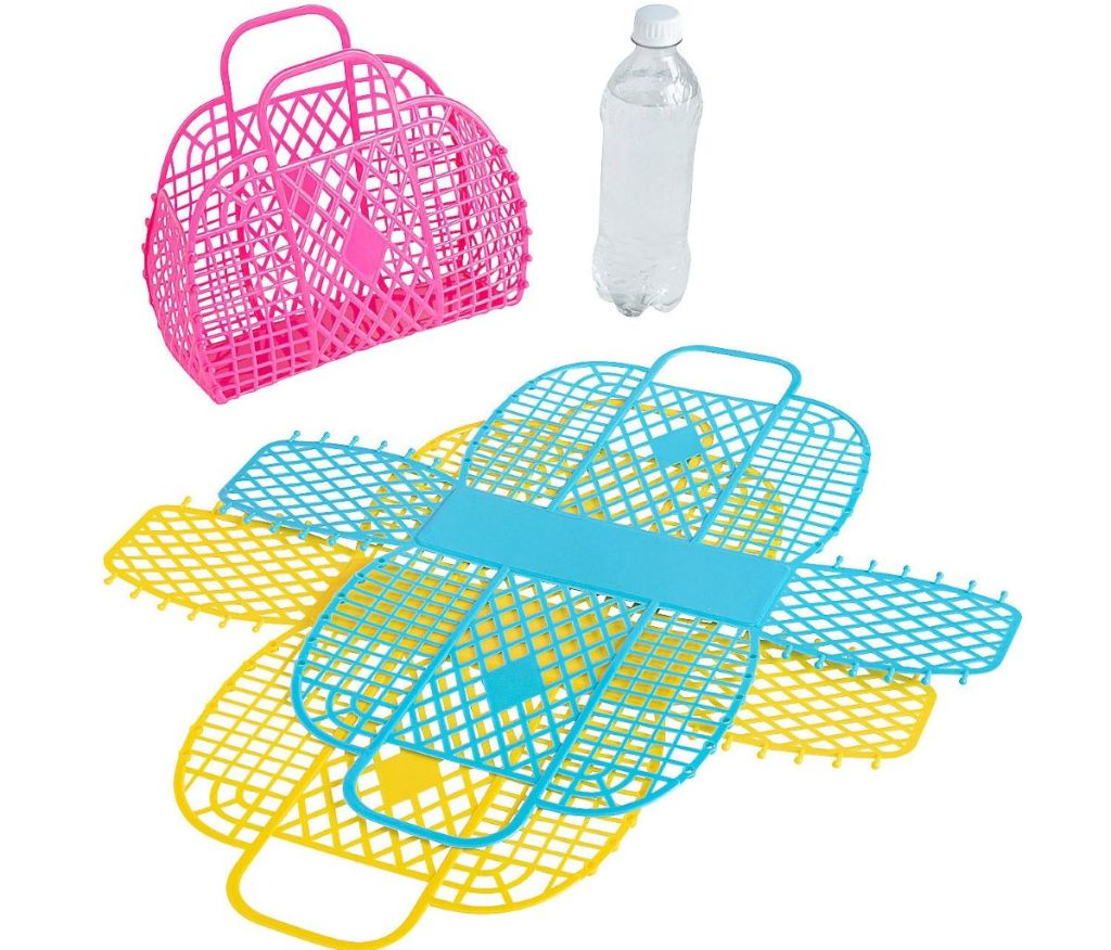 Jelly Totes and water bottle