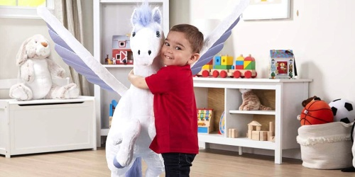 Melissa & Doug Large Pegasus Plush Only $24.76 Shipped for Amazon Prime Members