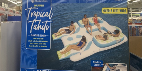 Member's Mark 8′ Inflatable Island Only $149.98 at Sam's Club | In-Store & Online