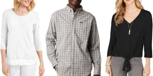 Columbia Men's Shirts Just $12 on Macy's.com + More Clearance Apparel Deals