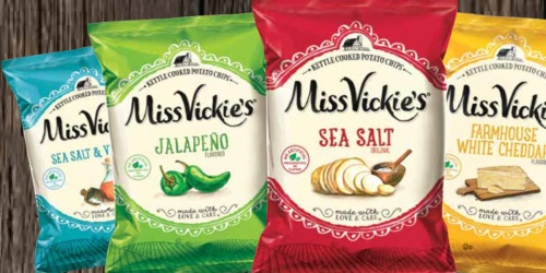 Miss Vickie's Kettle Cooked Potato Chip 28-Count Variety Pack Just $11.50 Shipped on Amazon