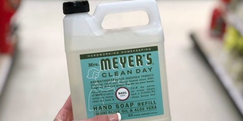 Mrs. Meyer's Hand Soap Refill 33oz Bottle Only $4.54 Shipped on Amazon