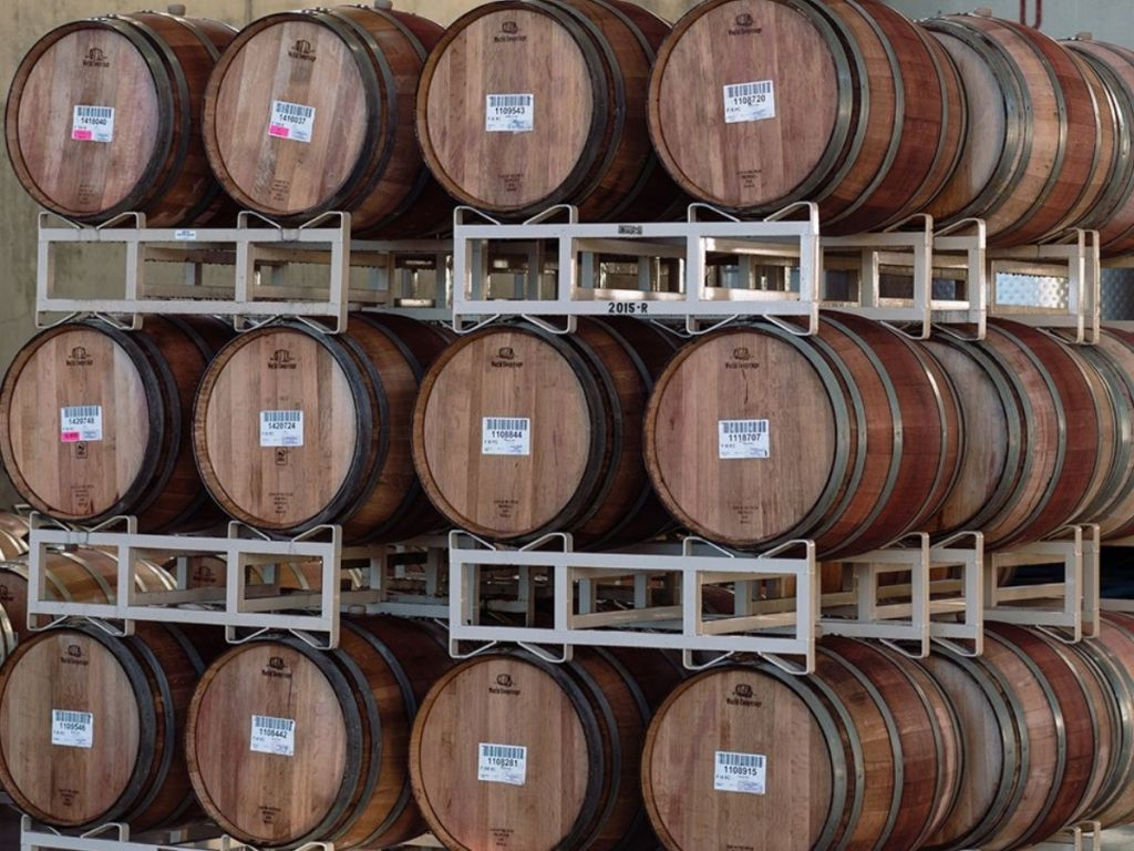 Murphy Goode Wine barrels